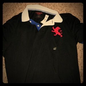 Men's Express polo brand new with tags size XL